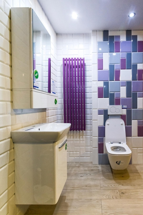 Aranżacja łazienki w kolekcji płytek Paradyż Tamoe - zdjęcie od BLU salon łazienek Łódź