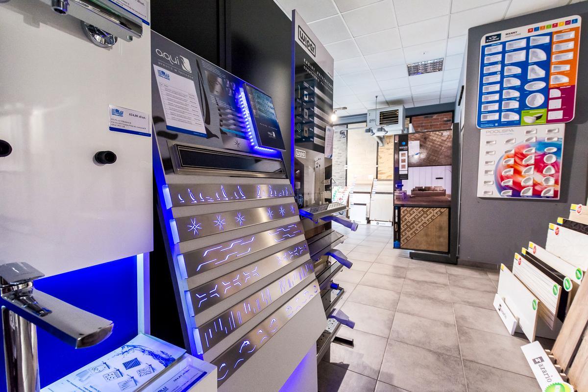 Akcesoria do łazienki - odpływy liniowe - zdjęcie od BLU salon łazienek Cieszyn