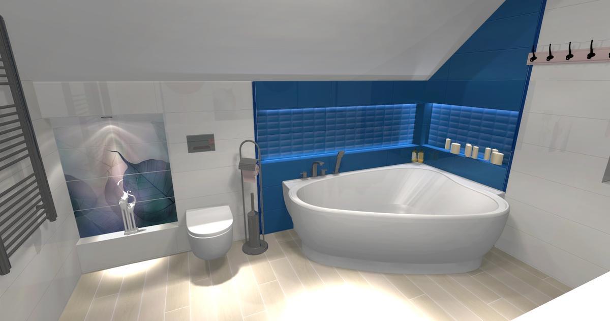 Aranżacja łazienki Opoczno Vivid Colours - zdjęcie od BLU salon łazienek Ciechanów