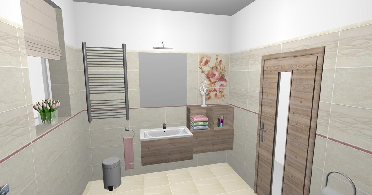 Aranżacja łazienki Paradyż Coraline - zdjęcie od BLU salon łazienek Ciechanów