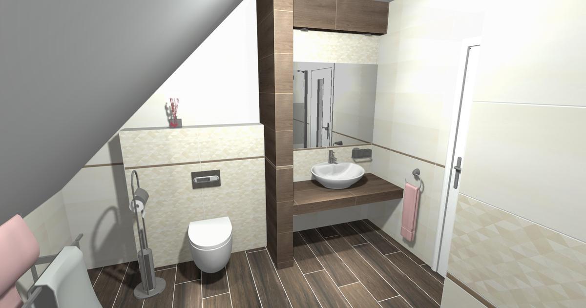 Aranżacja łazienki Paradyż Domus oraz Paradyż Pago - zdjęcie od BLU salon łazienek Ciechanów