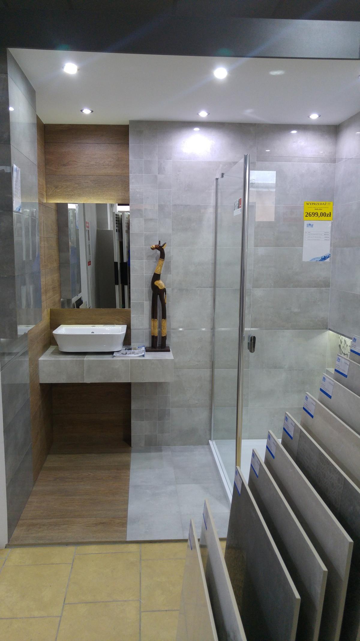 Aranżacja łazienki Tubądzin Epoxy - zdjęcie od BLU salon łazienek Ciechanów