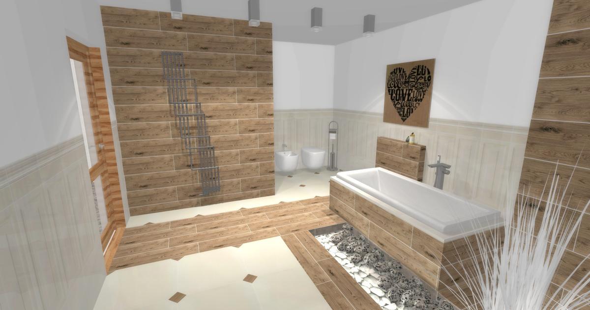 Aranżacja łazienki Tubądzin Royal Place - zdjęcie od BLU salon łazienek Ciechanów