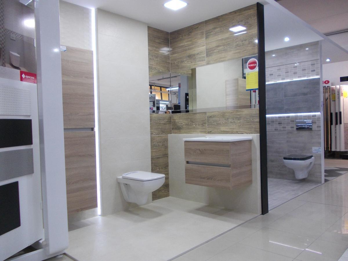 Aranżacja łazienki Tubądzin Terrane - BLU Bochnia  - zdjęcie od BLU salon łazienek Bochnia