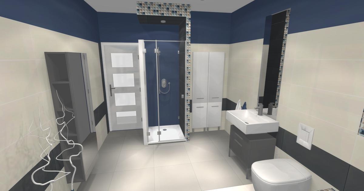 Aranżacja łazienki  - zdjęcie od BLU salon łazienek Ciechanów