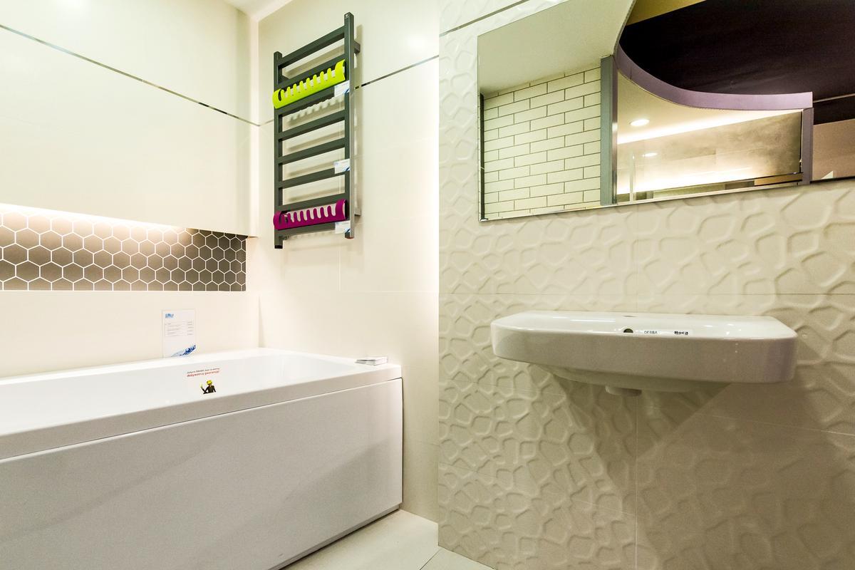 Aranżacja Tubądzin All in white  - zdjęcie od BLU salon łazienek Siedlce