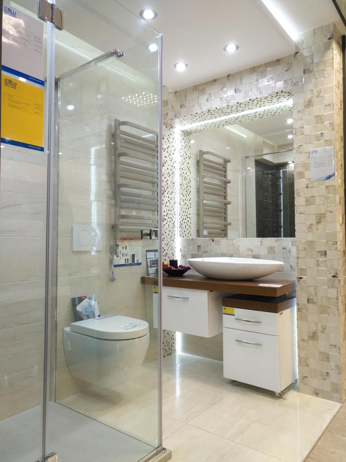 Aranżacja w jasnych barwach - Azario Daino Ivory - zdjęcie od BLU salon łazienek Dębica
