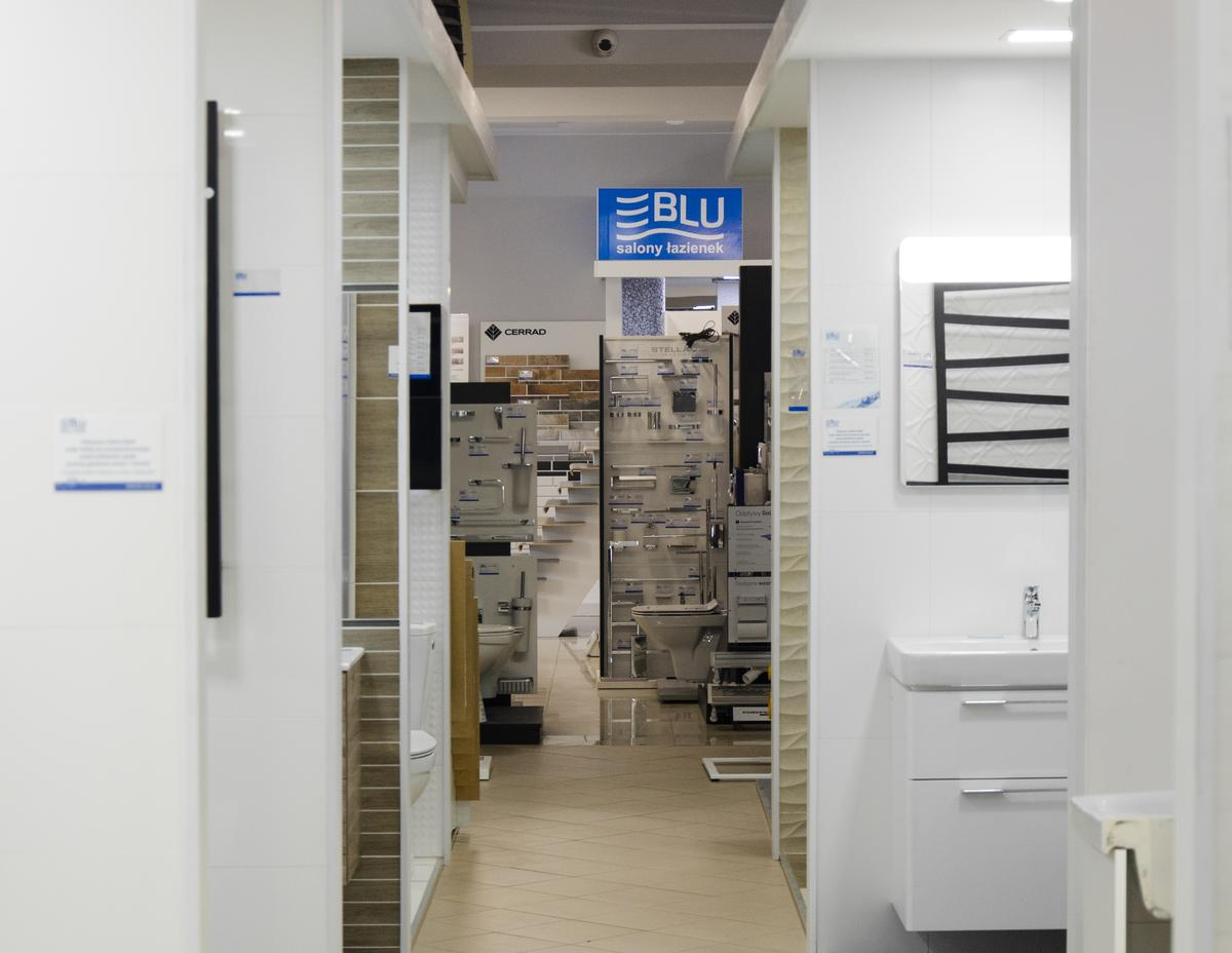 Aranżacje łazienek w BLU Pułtusk - zdjęcie od BLU salon łazienek Pułtusk