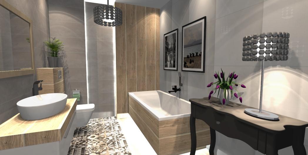 Azario Baffin Decor w łazience - zdjęcie od BLU salon łazienek Gniezno