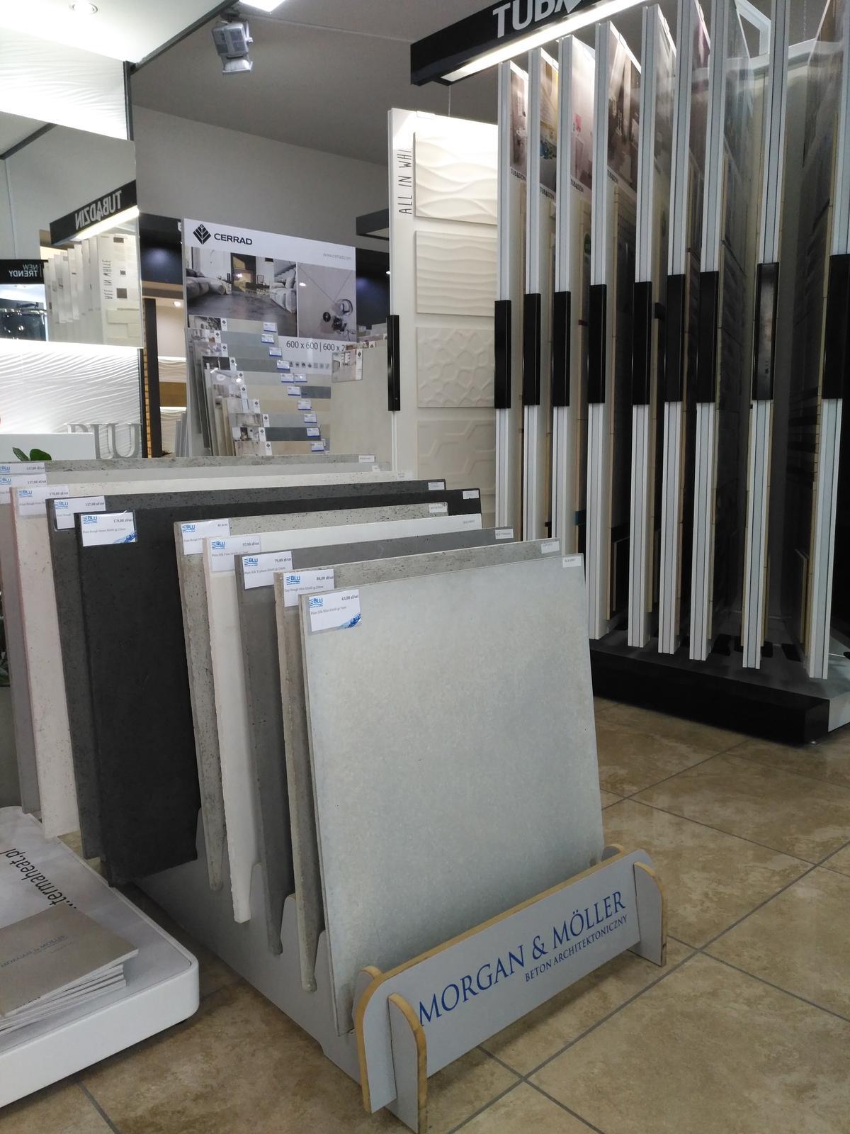 Beton Architektoniczny dostępny w salonach BLU - zdjęcie od BLU salon łazienek Dębica