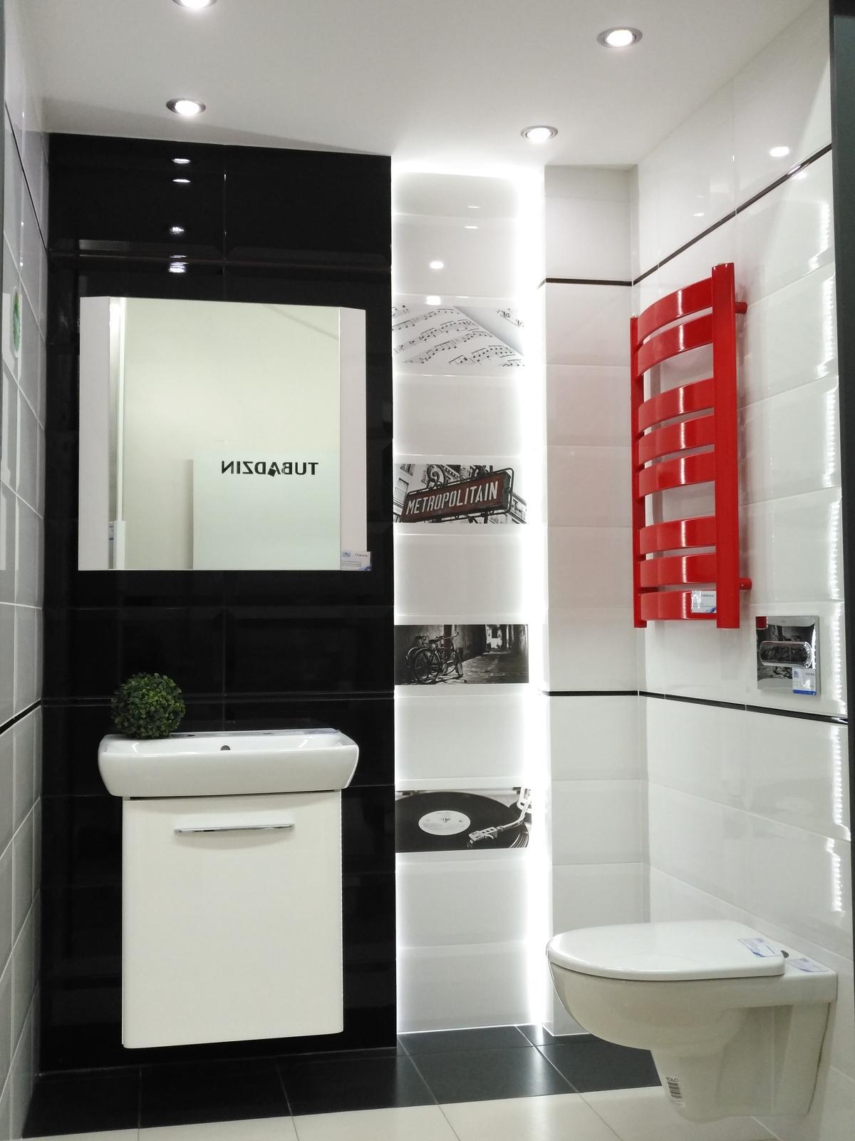 Biel i czerń w kolekcji Domino Joy - zdjęcie od BLU salon łazienek Dębica
