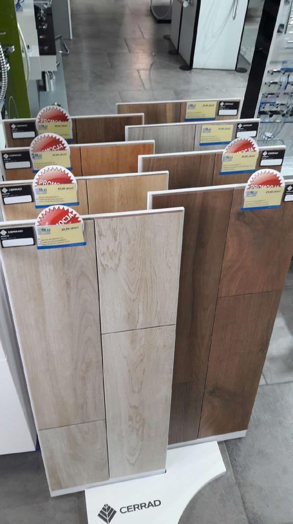 Cerrad - płytki drewnopodobne - zdjęcie od BLU salon łazienek Płońsk
