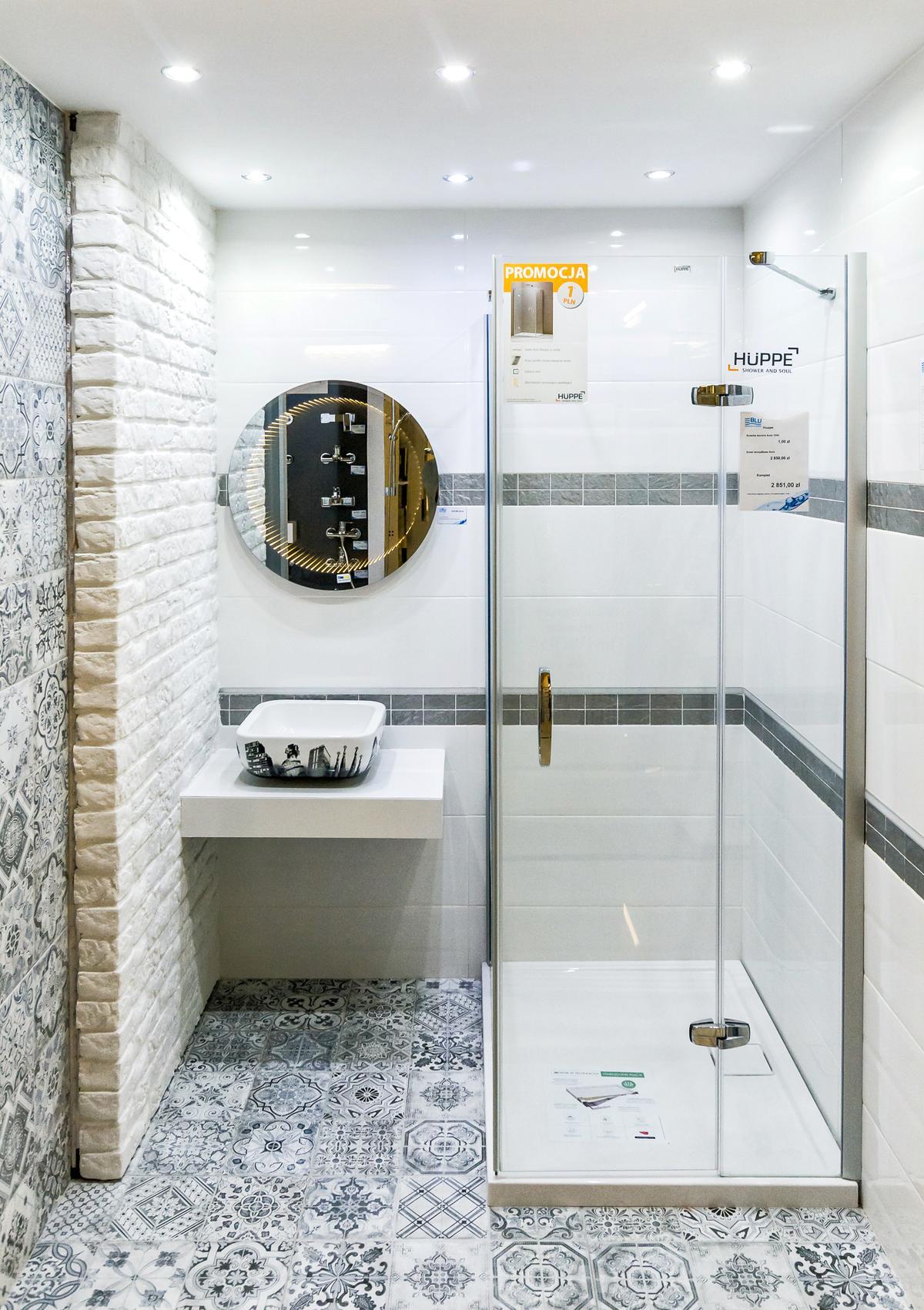Ciekawy patchwork w kolekcji Azario Patchmani - zdjęcie od BLU salon łazienek Siedlce