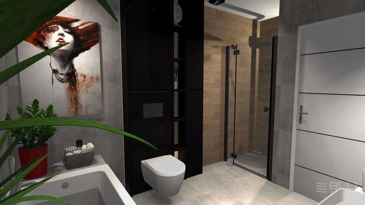 Drewniane akcenty w łazience Cerrad Catalea honey  - zdjęcie od BLU salon łazienek Zamość