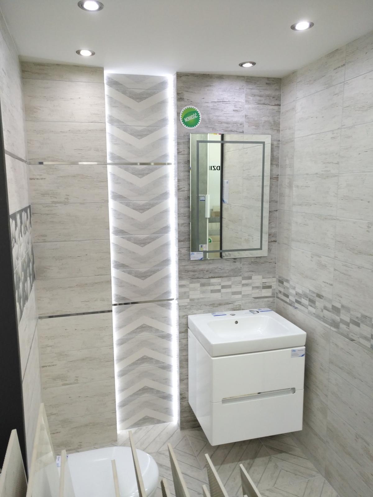 Ekspozycja płytek Domino Sabaudia - zdjęcie od BLU salon łazienek Dębica