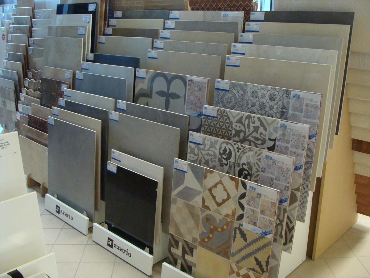 Ekspozycje płytek Azario - BLU salon łazienek Mława - zdjęcie od BLU salon łazienek Mława