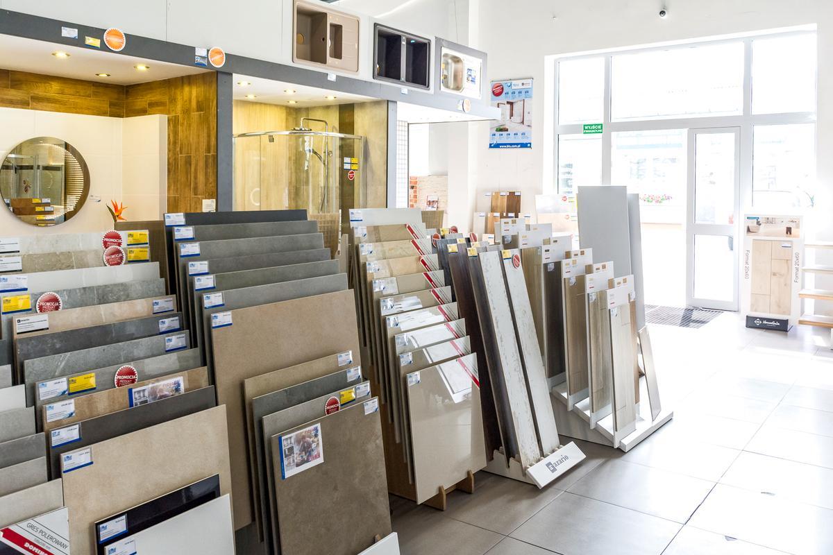 Ekspozycje płytek w salonie BLU Kwidzyn - zdjęcie od BLU salon łazienek Kwidzyn