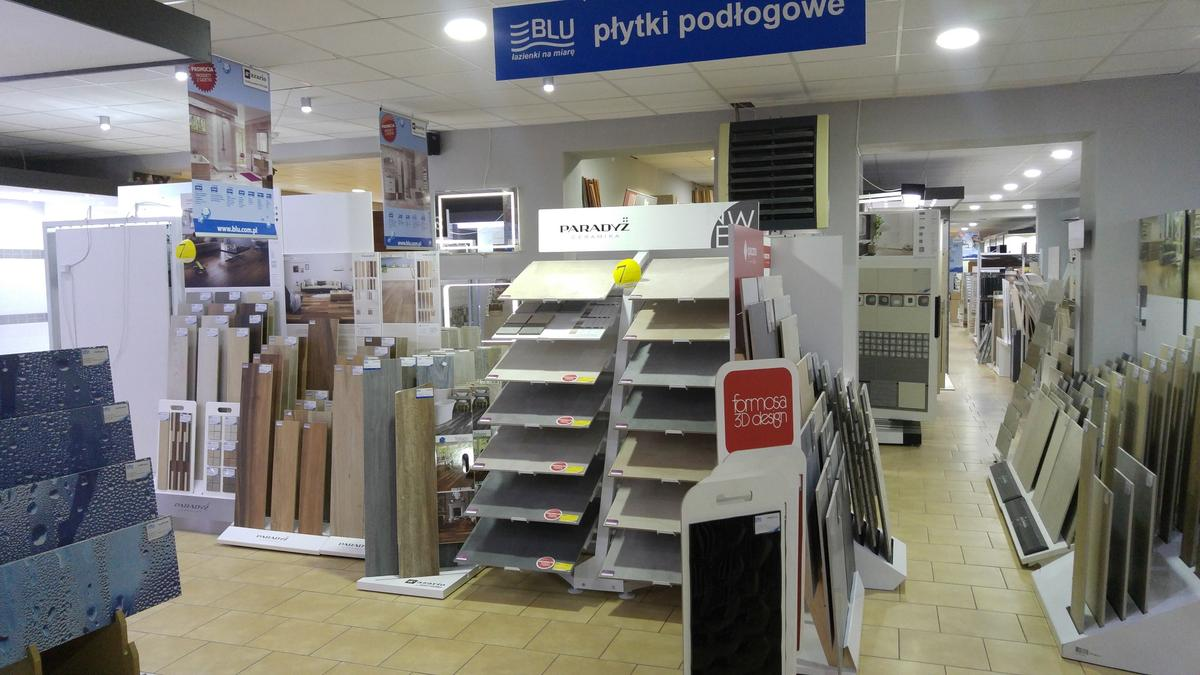 Ekspozycje płytek w salonie BLU w Ciechanowie - zdjęcie od BLU salon łazienek Ciechanów