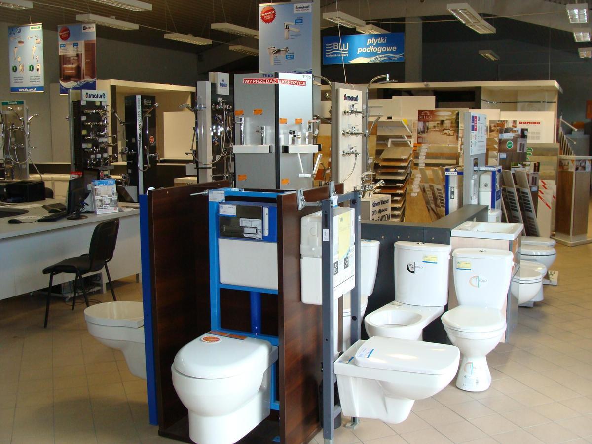 Ekspozycje w salonie BLU w Mławie - zdjęcie od BLU salon łazienek Mława