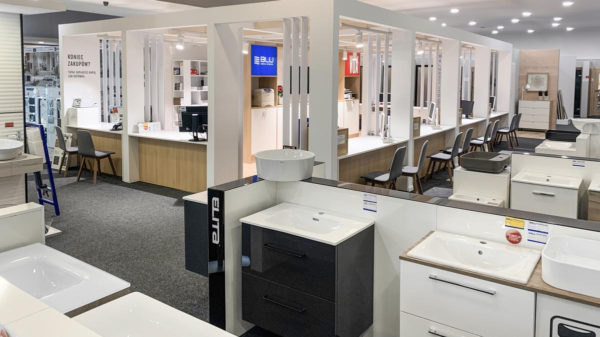 Ekspozycje w salonie łazienek BLU Olsztyn - zdjęcie od BLU salon łazienek Olsztyn