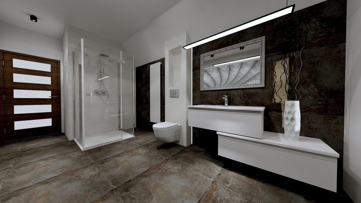 Imitacja kamienia w kolekcji płytek Azario - zdjęcie od BLU salon łazienek Ostrowiec Świętokrzyski