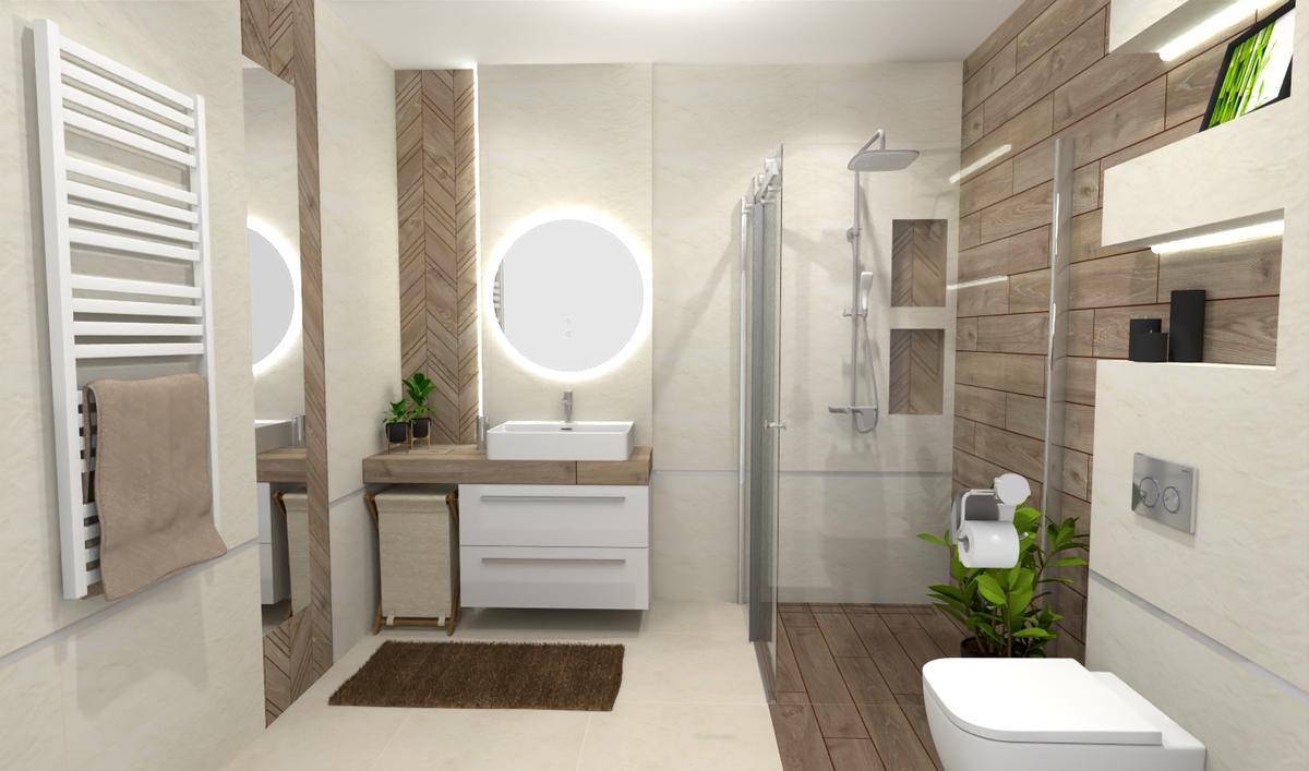 Jasność, prostota i minimalizm w łazience - zdjęcie od BLU salon łazienek Bielsko-Biała