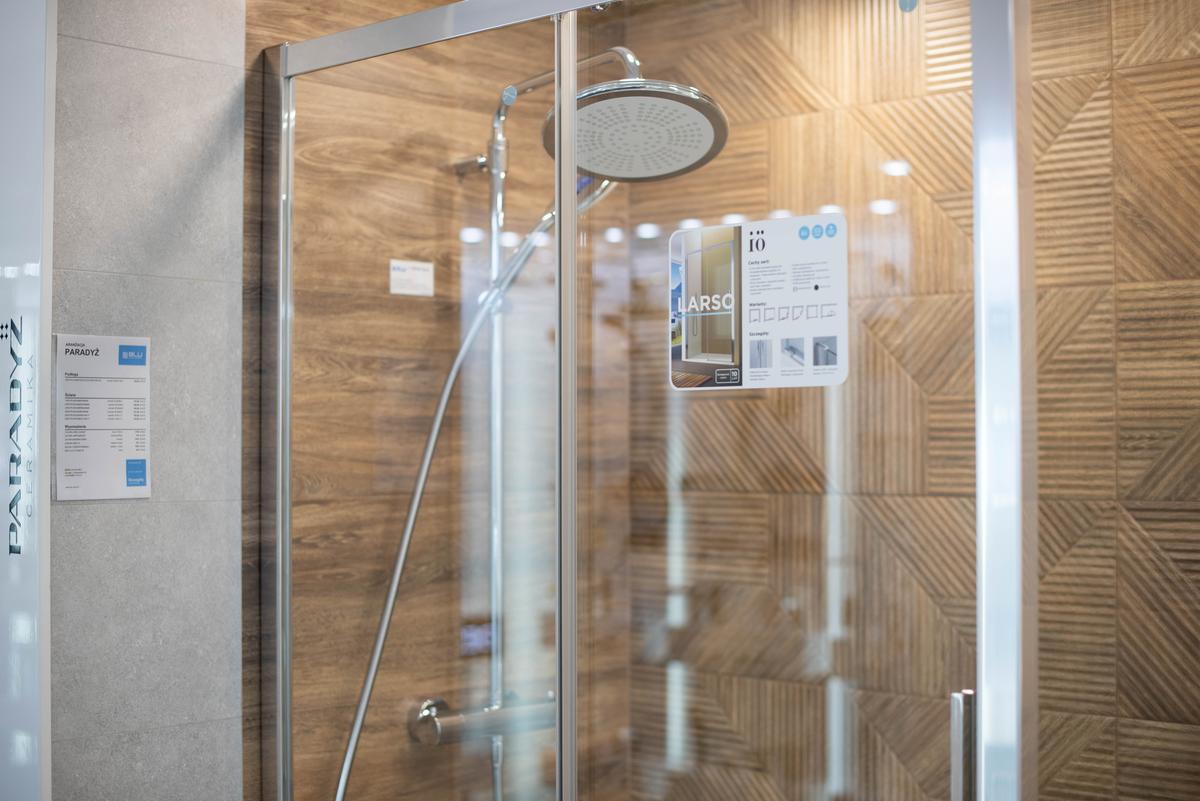 Kabina prysznicowa IÖ Larso w BLU Suwałki - zdjęcie od BLU salon łazienek Suwałki