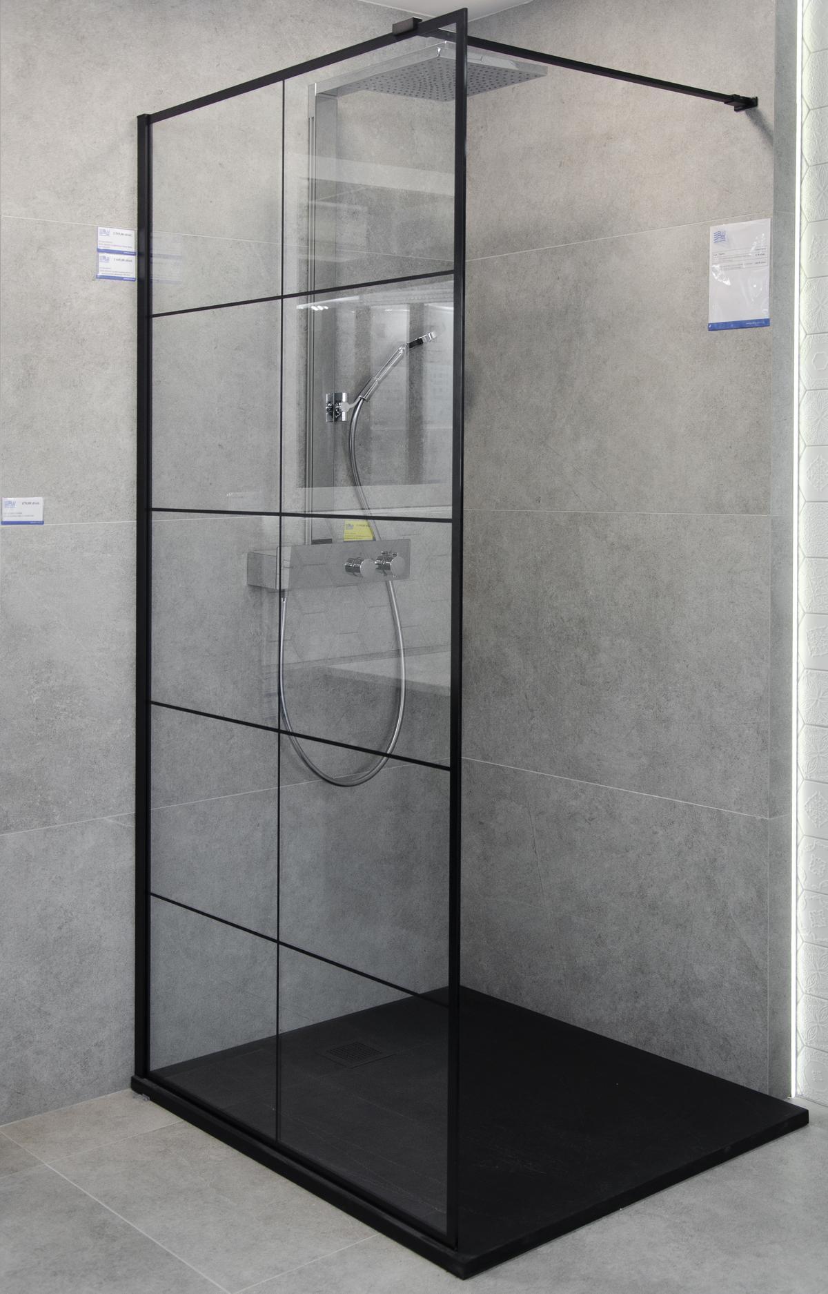 Kabina prysznicowa w loftowym stylu - zdjęcie od BLU salon łazienek Białystok