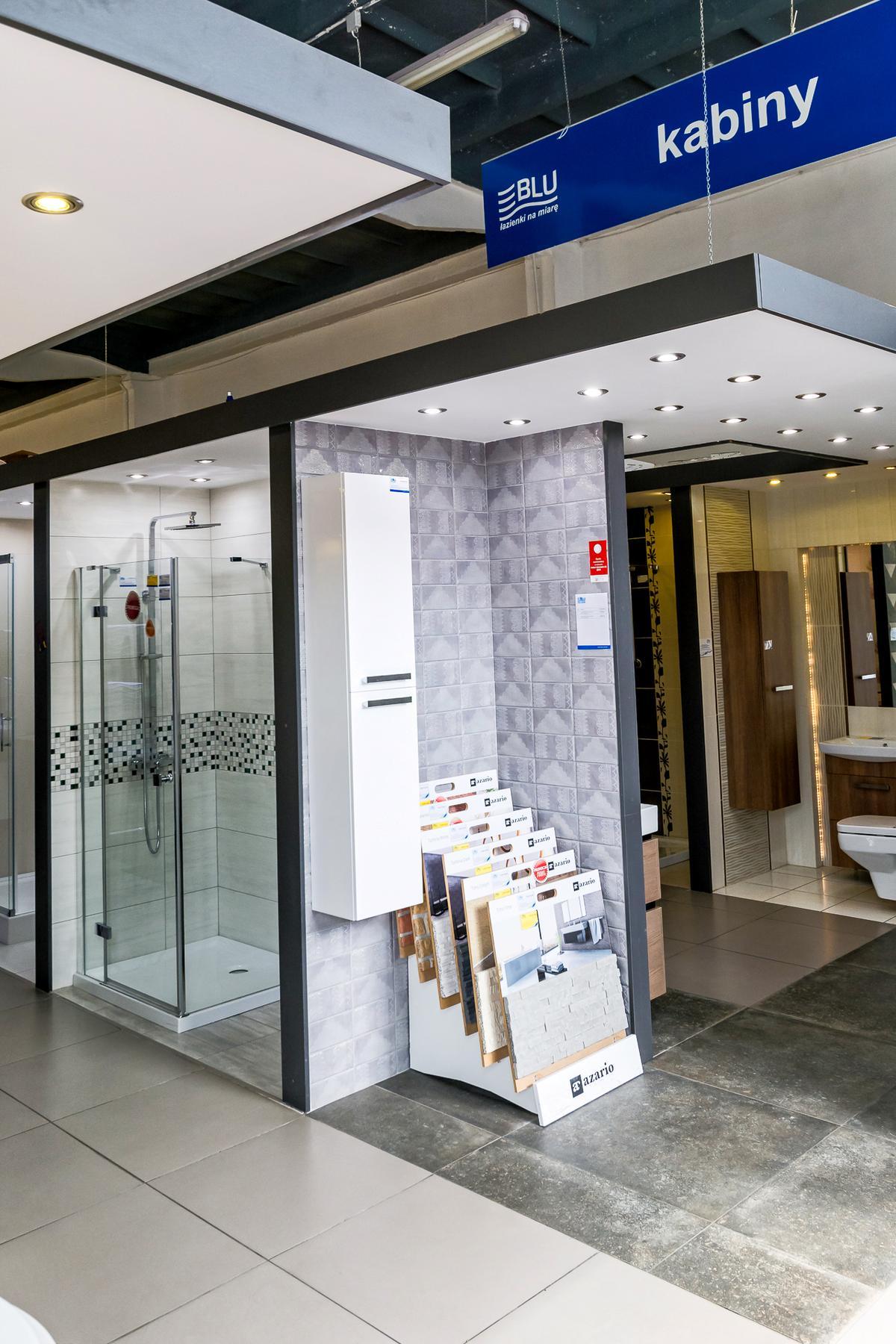 Kabiny prysznicowe i wyposażenie łazienek - zdjęcie od BLU salon łazienek Kwidzyn