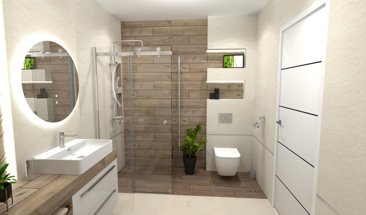 Koncepcja łazienki w stylu skandynawskim - zdjęcie od BLU salon łazienek Bielsko-Biała