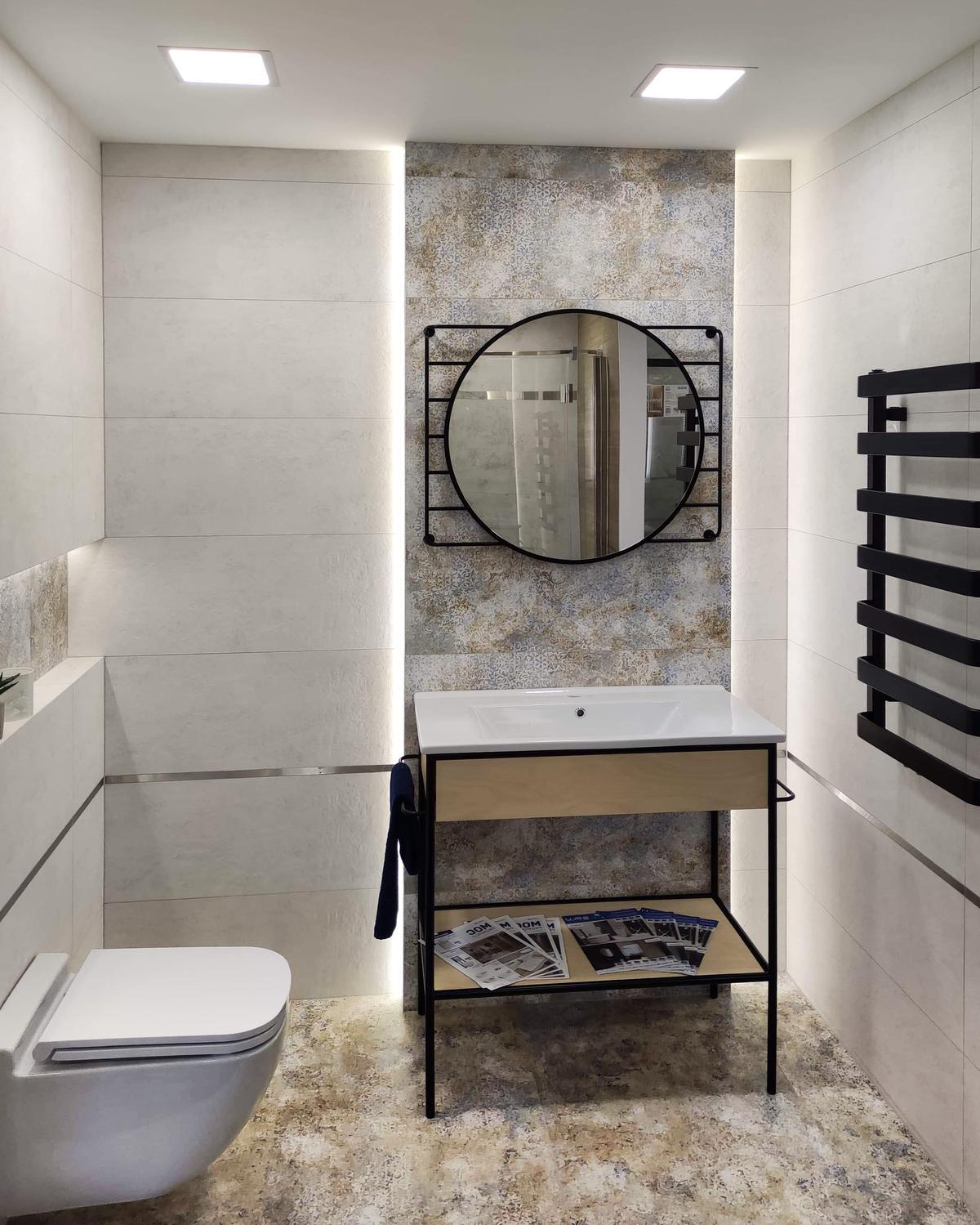 Łagodne odcienie kolekcji Azario Pravia w BLU Września - zdjęcie od BLU salon łazienek Września