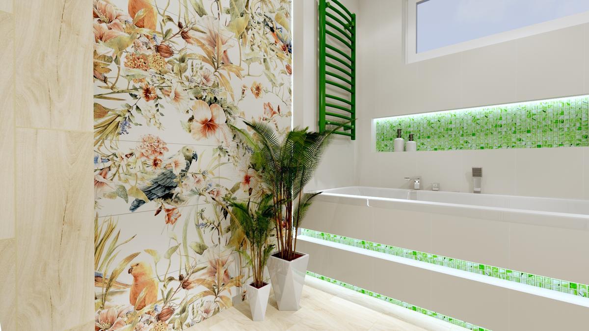 Łazienka inspirowana naturą - zdjęcie od BLU salon łazienek Ostrowiec Świętokrzyski