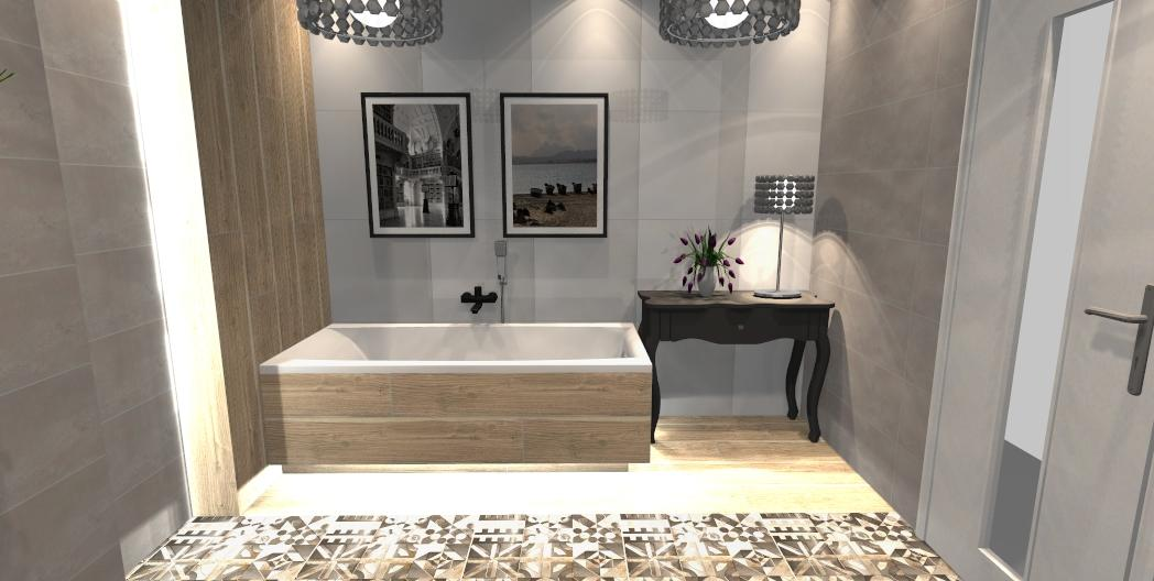 Łazienka na bazie kolekcji Azario Neutro - zdjęcie od BLU salon łazienek Gniezno