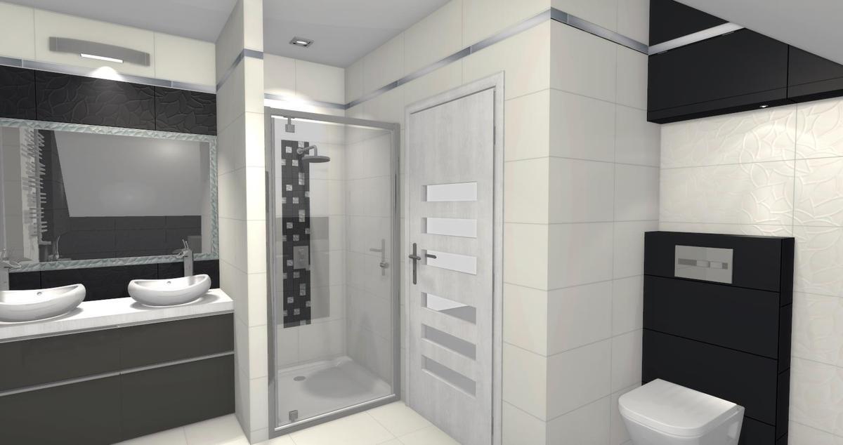 Łazienka w aranżacji płytek Paradyż Esten - zdjęcie od BLU salon łazienek Łomża