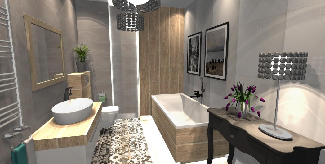 Łazienka w kolekcji Azario Neutro - zdjęcie od BLU salon łazienek Gniezno