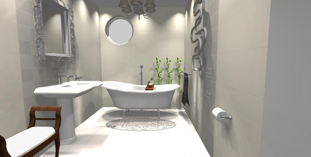 Łazienka w kolekcji Tubądzin Elementary - zdjęcie od BLU salon łazienek Gniezno