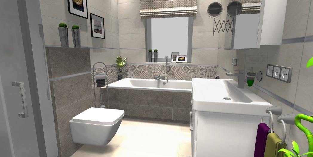 Łazienka w kolekcji Tubądzin Igara - zdjęcie od BLU salon łazienek Gniezno