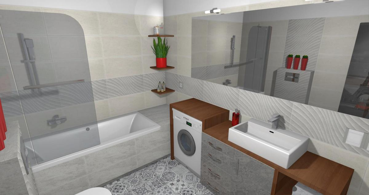 Łazienka w stylu nowoczesnym - zdjęcie od BLU salon łazienek Lębork