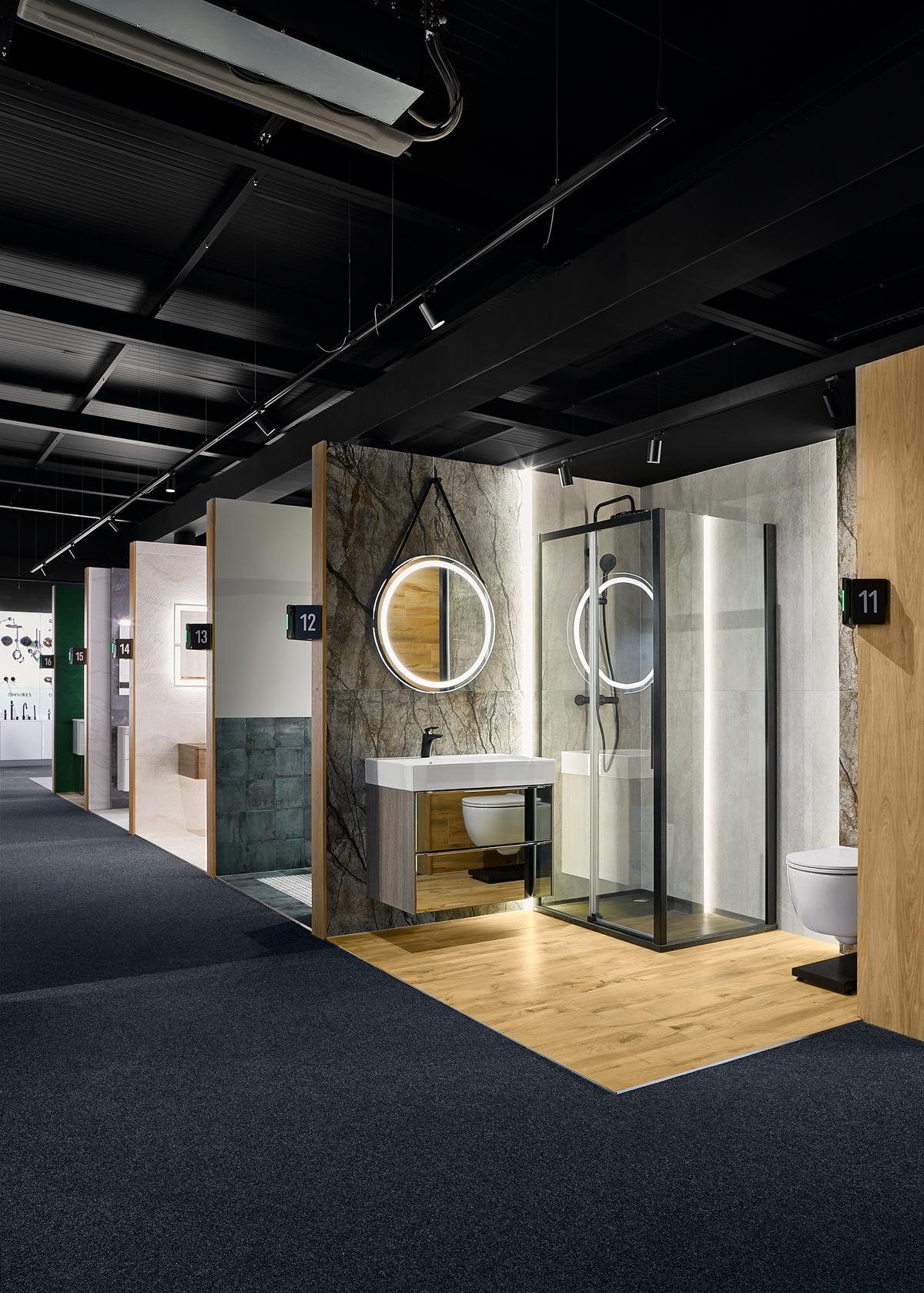 Łazienkowe aranżacje w BLU Elbląg - zdjęcie od BLU salon łazienek Elbląg