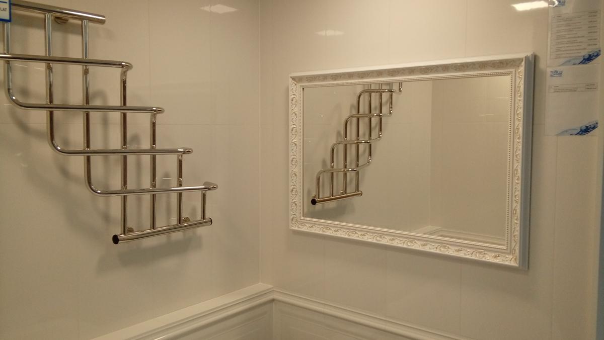 Lustro w ramie Ird 31 - zdjęcie od BLU salon łazienek Chojnice