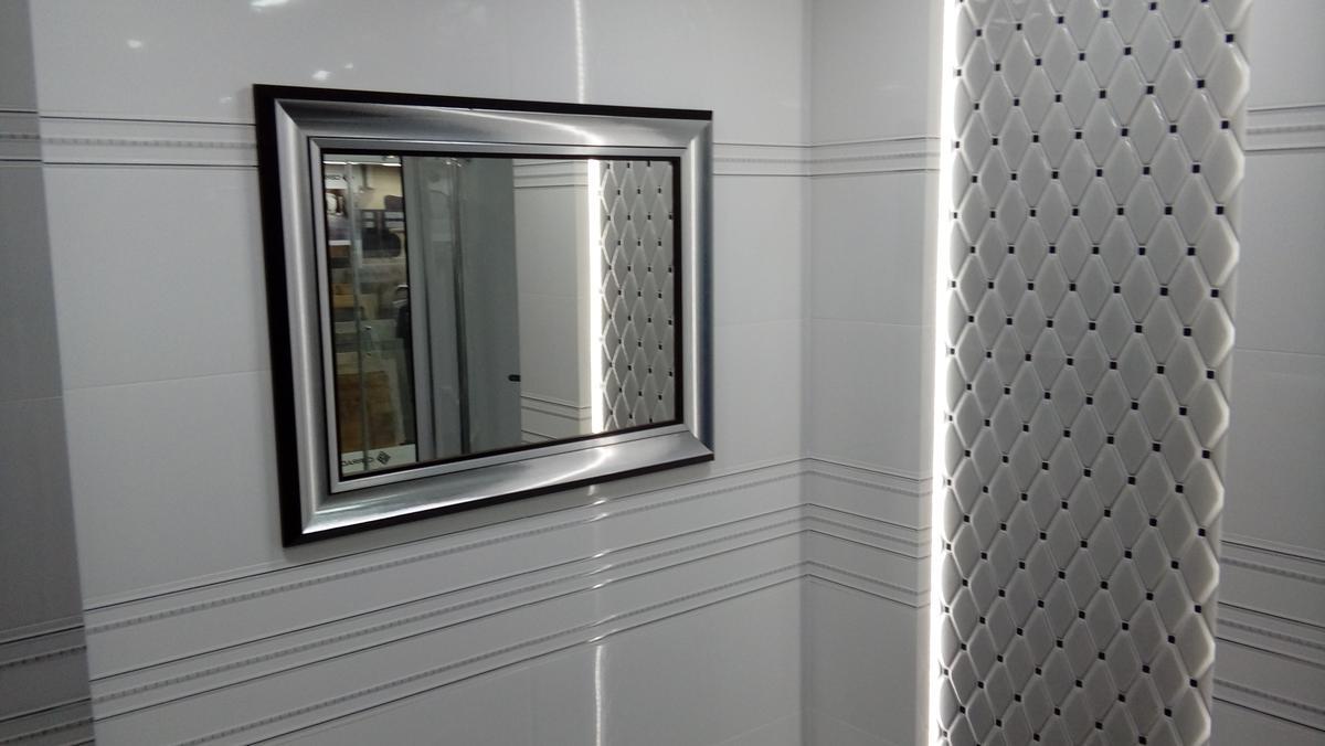 Lustro w ramie Ird 38 - zdjęcie od BLU salon łazienek Chojnice