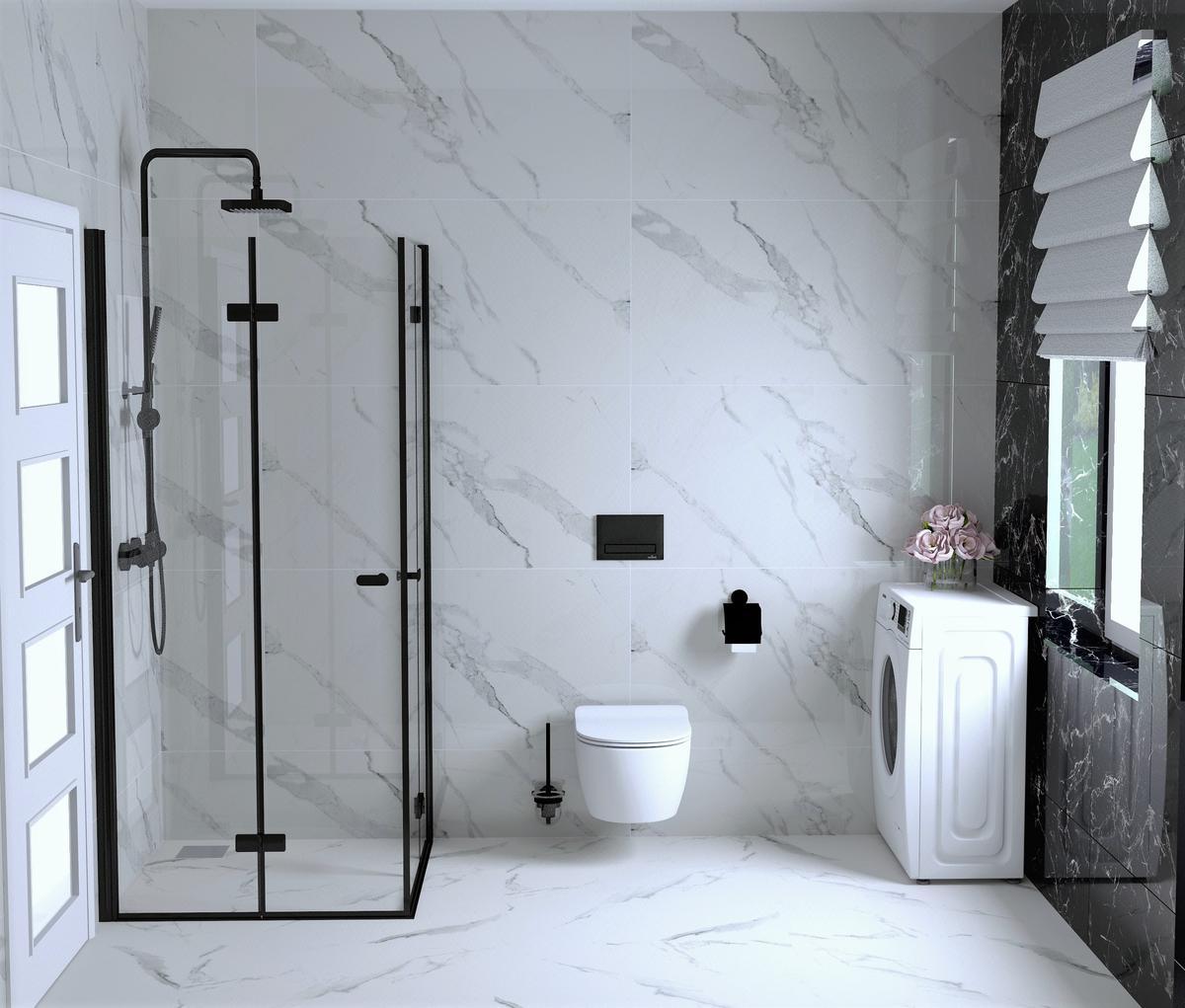 Marmur w łazience - zdjęcie od BLU Salon Łazienek Tarnobrzeg