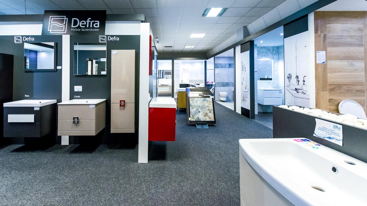 Meble łazienkowe marki Defra - zdjęcie od BLU salon łazienek Włocławek