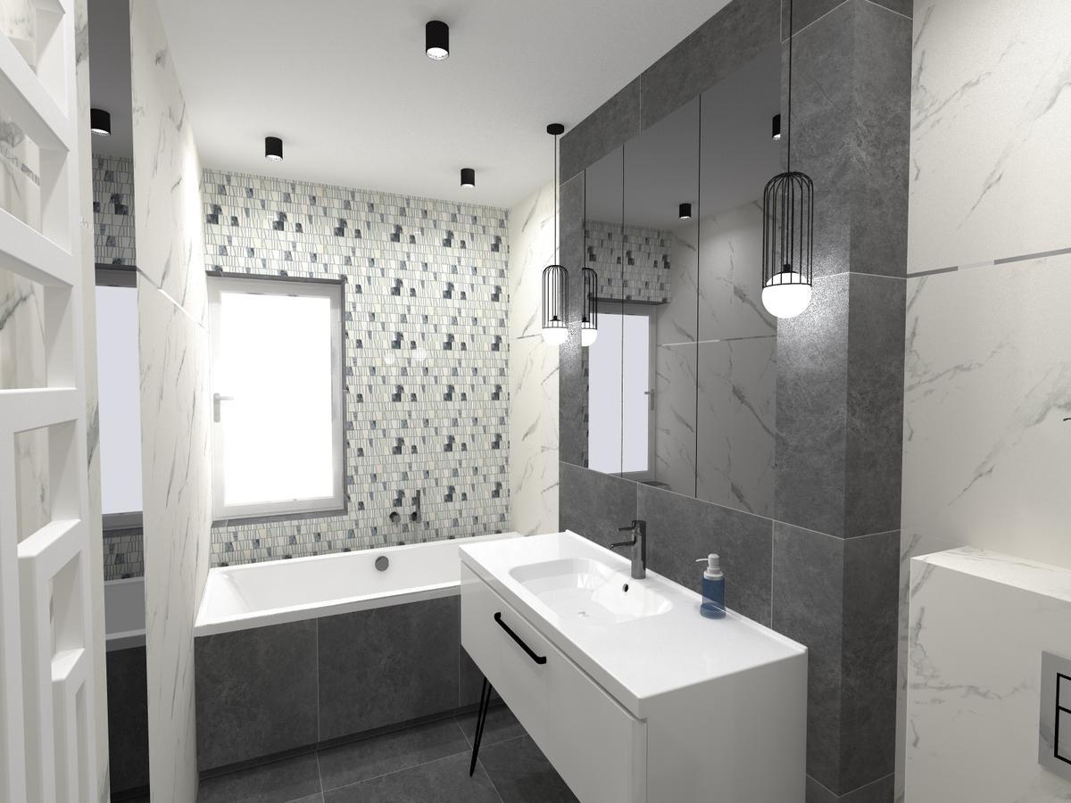 Mozaika TUBĄDZIN w roli głównej - zdjęcie od BLU salon łazienek Inowrocław