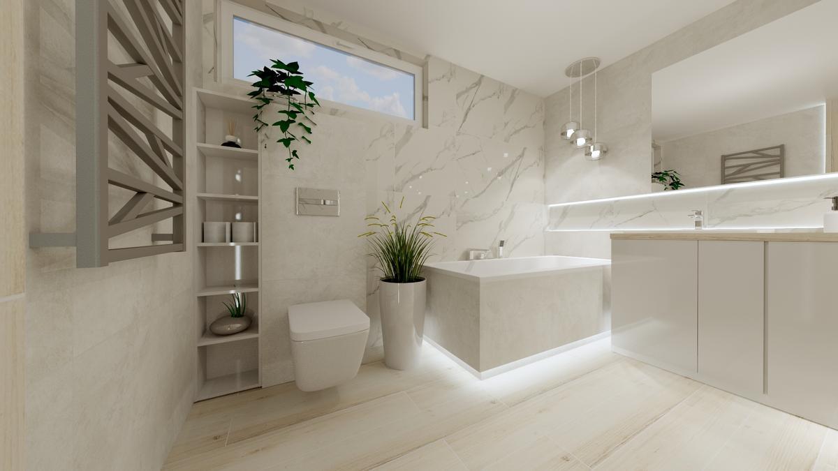 Nowoczesna łazienka - zdjęcie od BLU salon łazienek Ostrowiec Świętokrzyski