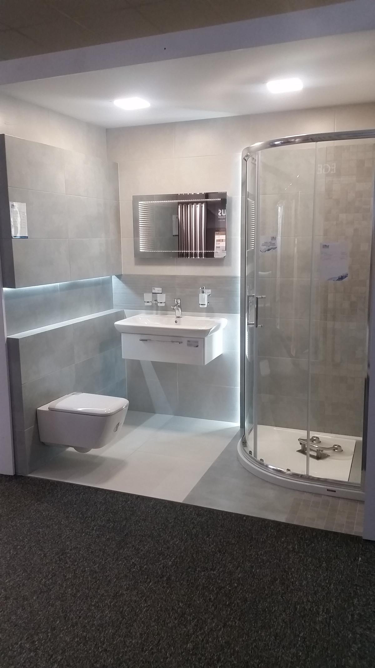 Odcienie szarości - zdjęcie od BLU salon łazienek Chojnice
