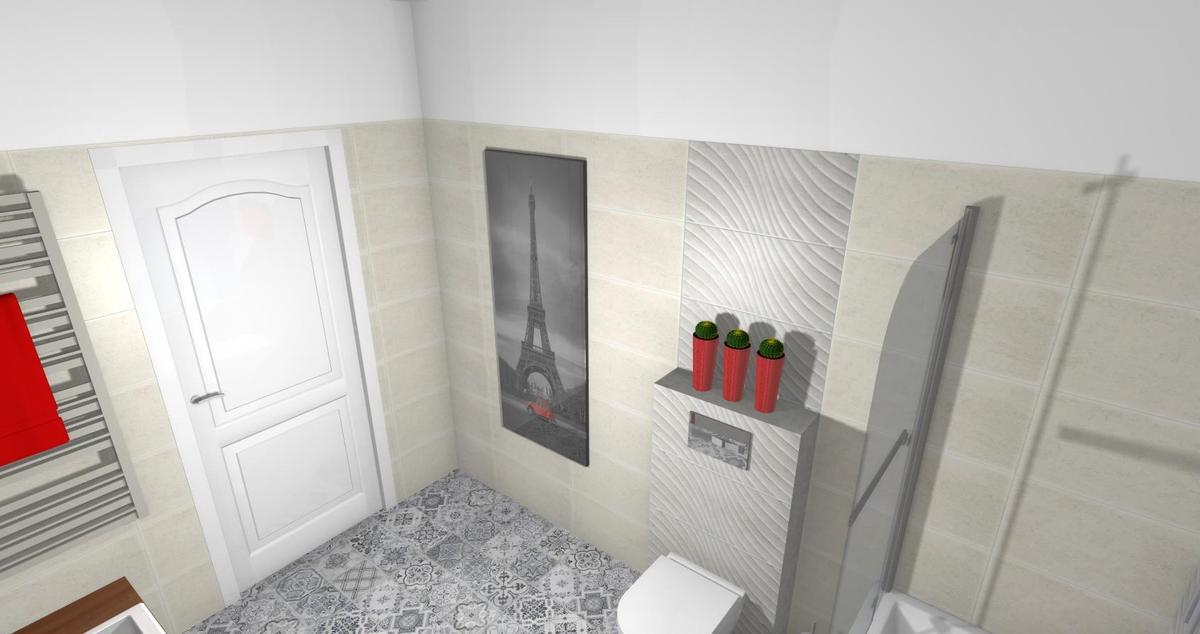 Patchwork w łazience - Azario Patchmani - zdjęcie od BLU salon łazienek Lębork