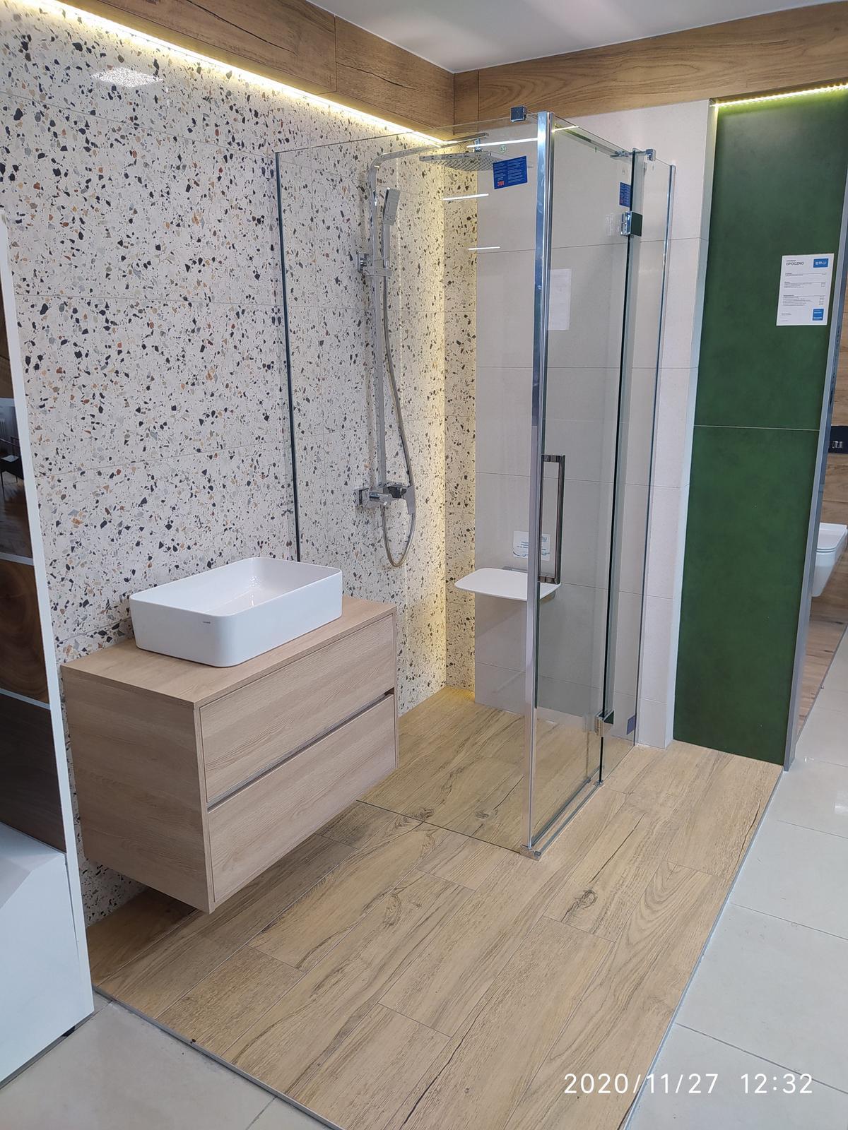 Płytki Cersanit Hika, inspirowane wzorem lastryka w BLU Bochnia - zdjęcie od BLU salon łazienek Bochnia