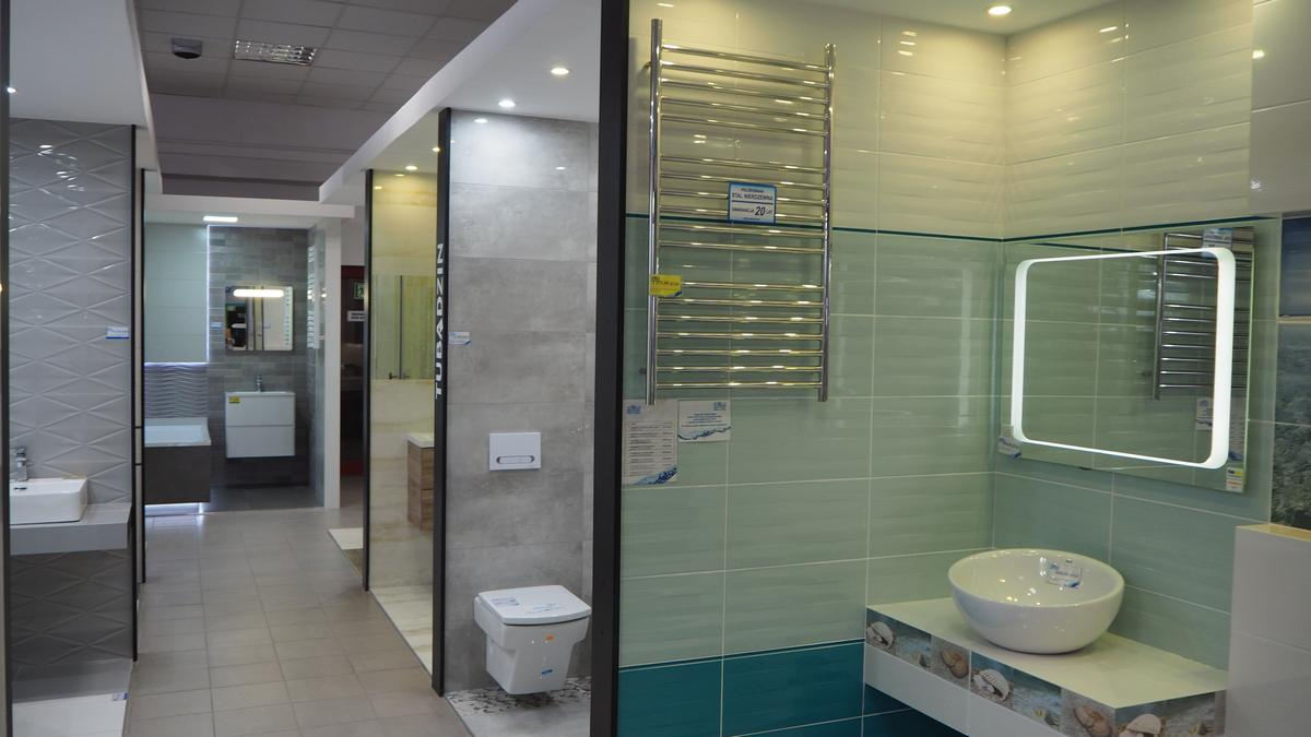 Płytki do łazienki producenta Tubądzin w salonie BLU w Łomży - zdjęcie od BLU salon łazienek Łomża