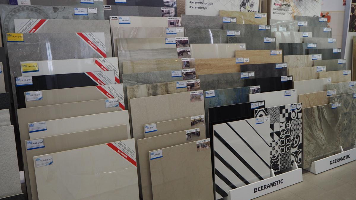 Płytki gresowe do łazienki i na podłogę, Salon BLU Łomża - zdjęcie od BLU salon łazienek Łomża